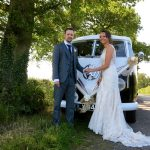 vw black betty wedding campervan dartmouth