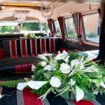 vw black betty wedding campervan