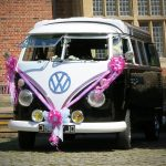 vw black betty wedding campervan Exeter