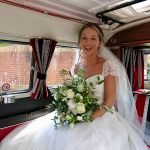 vw black betty wedding campervan darts farm topsham