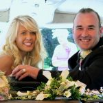 vw black betty wedding campervan budleigh